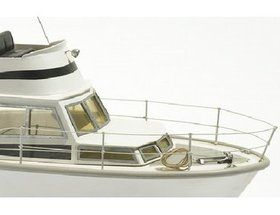 The Billing Boats 1/15 White Star Motorboat wooden ship model measures 54cm long, 30cm high and 16cm wide. This wooden boat kit is highly realistic with...