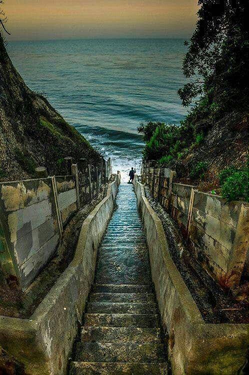1,000 beach steps Laguna Beach