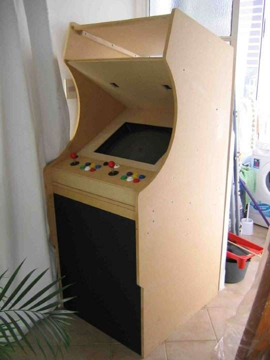 diy arcade cabinet plans woodworking projects plans. Black Bedroom Furniture Sets. Home Design Ideas