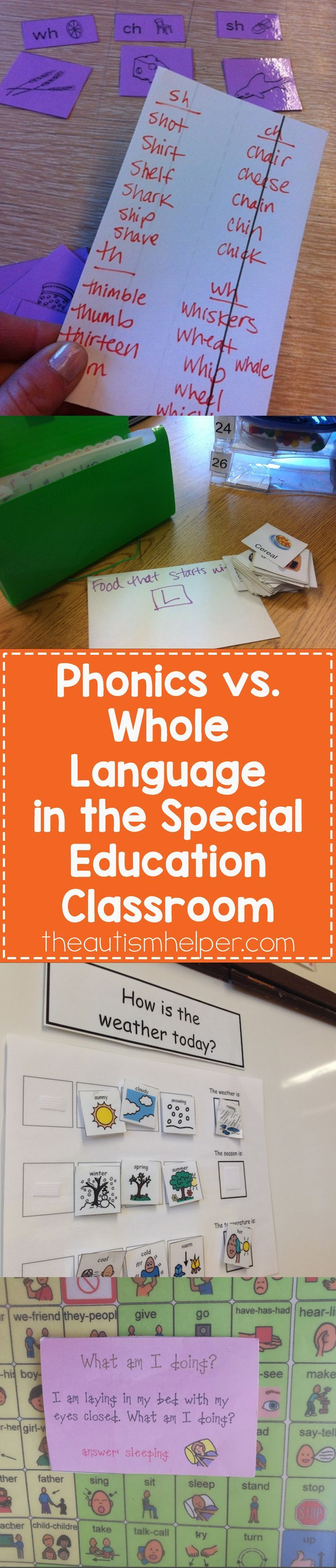 phonics vs whole language essay This essay phonics vs whole language is available for you on essays24com honestly, there is not a simple answer education specialists have been arguing over the issue of phonics vs whole language for years and a definite answer still has yet to be determined.