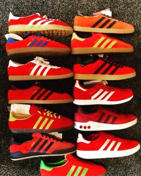 """Adidas """"RED"""" sneakers http://modernaut.blogspot.com/2018/02/adidas-red-sneakers.html"""
