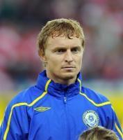 Fussball International EM 2012-Qualifikation: Andrey Karpovich (Kasachstan)