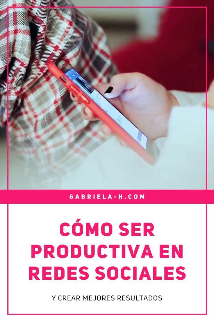 SER PRODUCTIVA EN REDES SOCIALES #productividad #organizacion #redessociales La Red, Marketing Digital, Instagram, Youtube, Socialism, Social Networks, Time Management, Productivity, Beauty Hacks