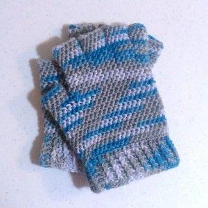 Men's Fingerless Gloves Crochet Pattern