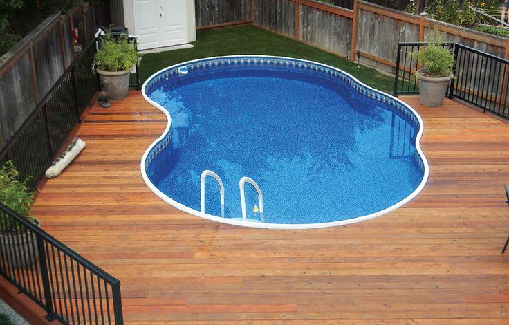 Incredible Radiant Metric Freeform Pool Installed