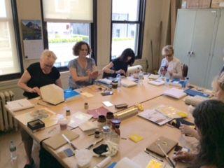 Gold Leaf Gilding Classes by Charles Douglas Gilding Studio
