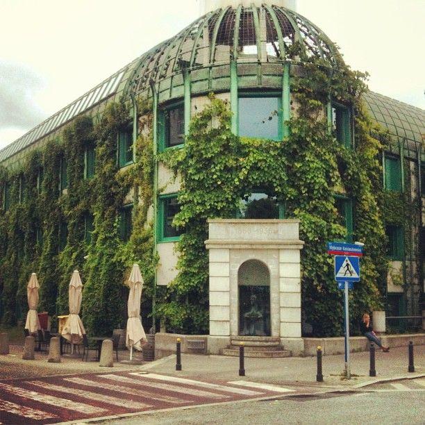 Biblioteka Uniwersytecka in Warszawa, Województwo mazowieckie Dachgarten!