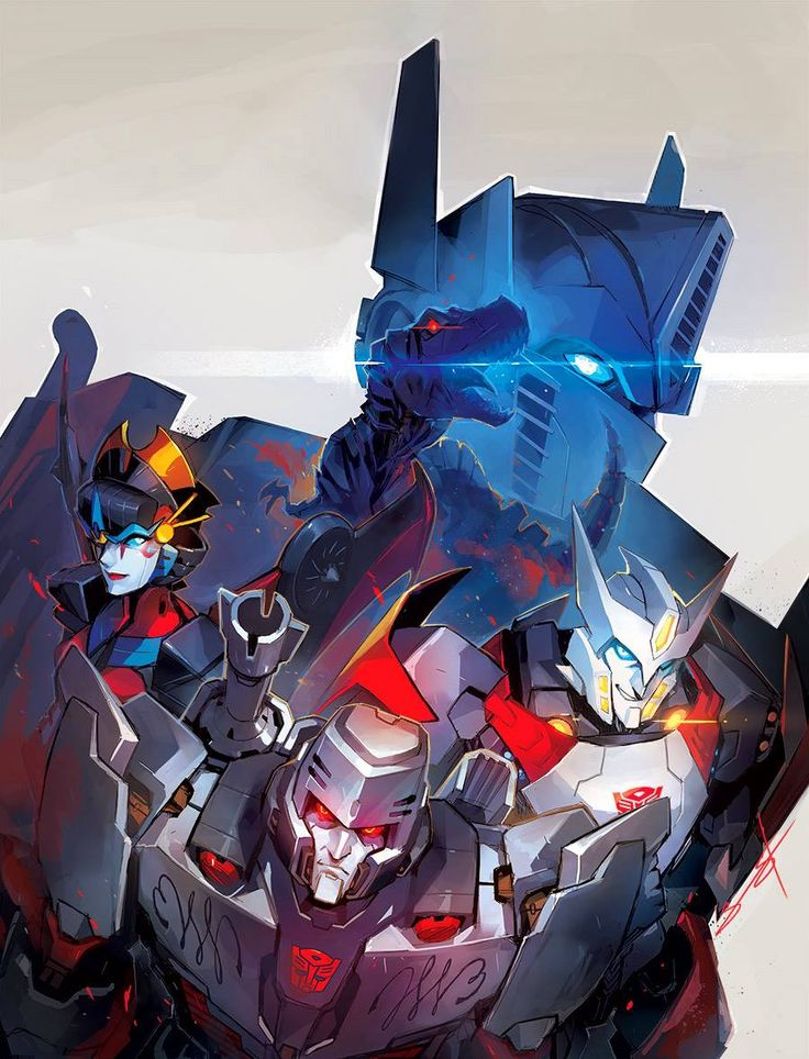 Transformers by Sarah Stone *