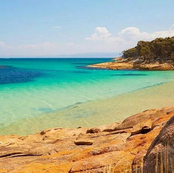 The Hazards Beach circuit walk Freycinet East Coast Tasmania Photo credit to elisaparkranger. East Coast Tasmania
