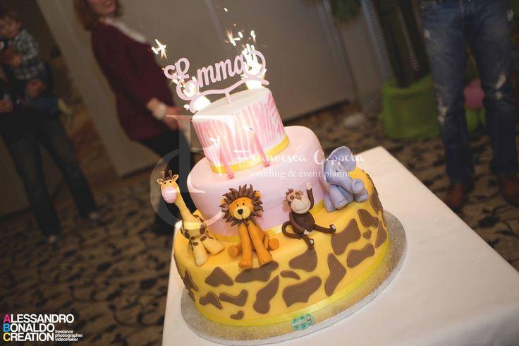 Birthday cake Safari theme