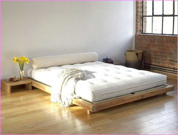 Japanese Queen Bed Frame In 2020 Minimalist Bed Japanese Style Bed Low Bed Frame