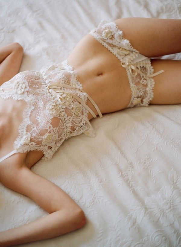 ClairePettiboneBridalLingerie02 600x819 Wedding lingerie: Getting glamourous at the end of the big day Wedding Blog
