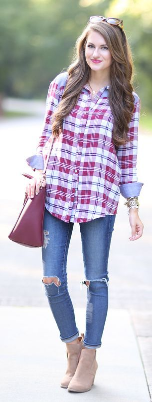 Fall Basics Back To School Outfit Idea by Southern Curls and pearls