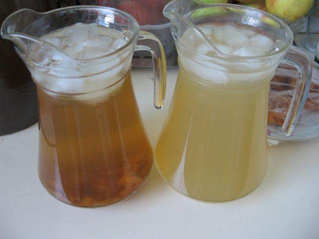 Tomek gotuje: Mrożona herbata miętowa na upały