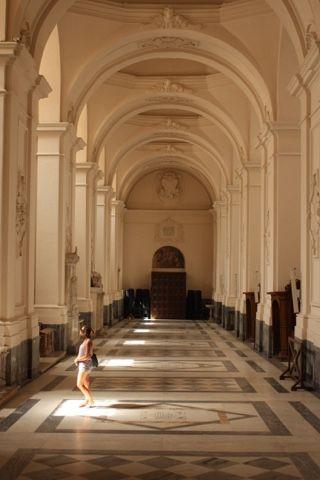 The duomo of Salerno: Italy Revisited Through Strawberry-Glazed Eyes