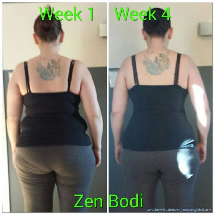 Amazing results in just 4 weeks using the Zen Bodi Program from Jeunesse!!! Get yours at wholesale at www.lustriousbeauty.jeunesseglobal.com