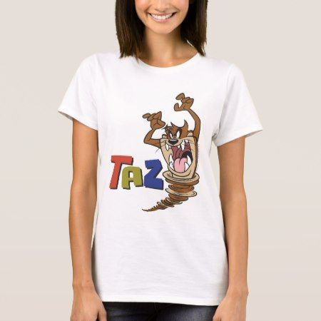 Wild TAZ™ T-Shirt - click/tap to personalize and buy