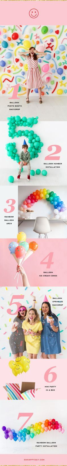 Insanely awesome balloon backdrop