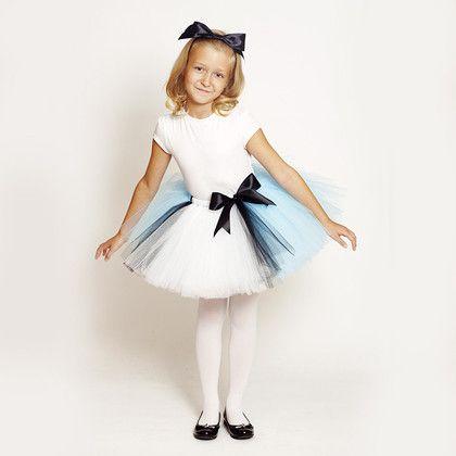 """Детские карнавальные костюмы ручной работы. Ярмарка Мастеров - ручная работа """"Алиса в стране чудес"""" пышная юбка-пачка и ободок с бантом. Handmade."""