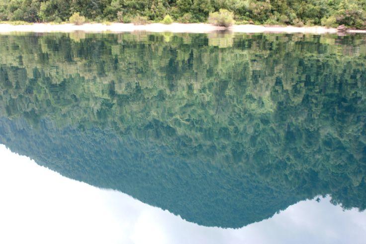 Lago Riñihue espejo