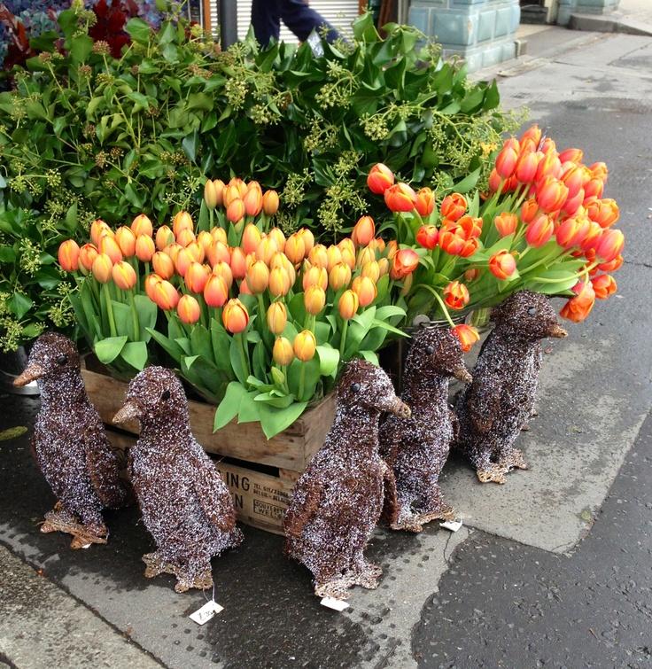 Flowers @ Bibendum, London