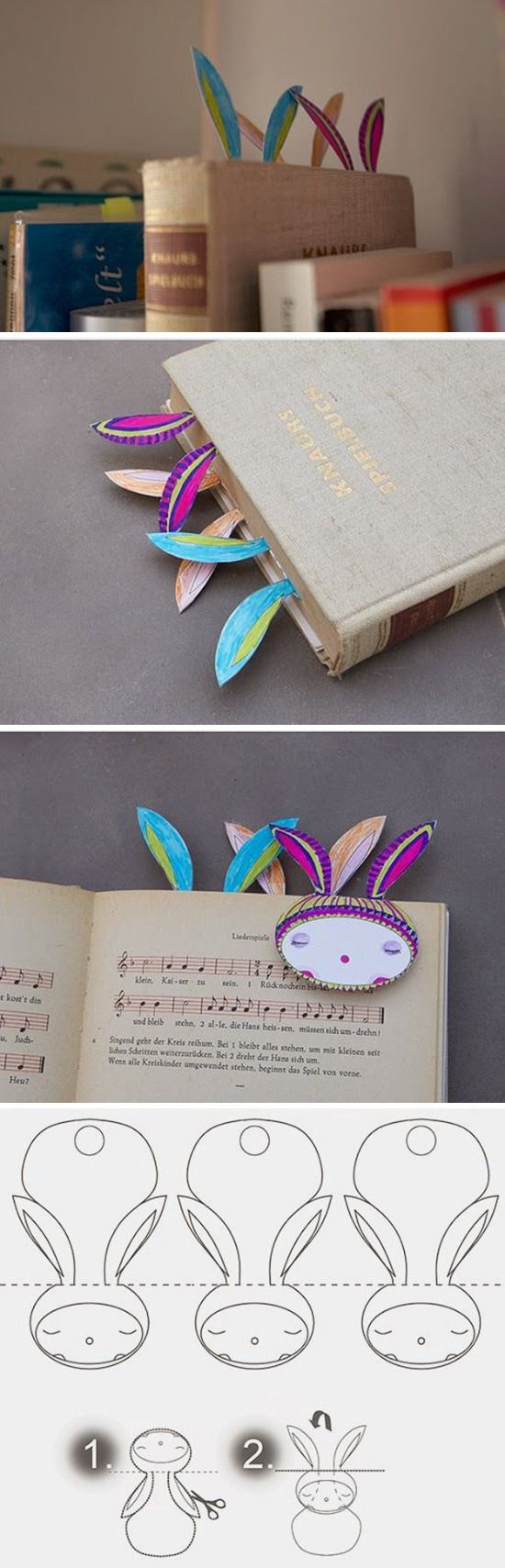 Paper bookmarks / Закладываем фундамент: 50 крутых книжных закладок, которые можно сделать самому - Ярмарка Мастеров - ручная работа, handmade