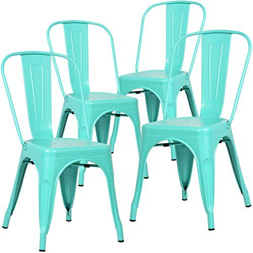 Poly And Bark Tolix Style Bistro A Dining Side Chair (Set... Https