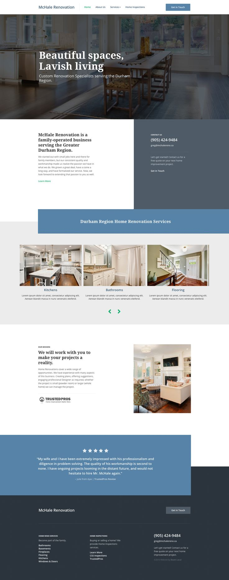 Looking For Top Trends In Contractor Website Designs Want To Know What Makes A Good