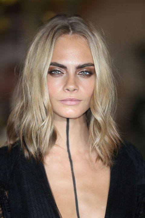 We've rounded up the best celebrity dye jobs of 2016!  Cara Delevingne's Icy Blonde
