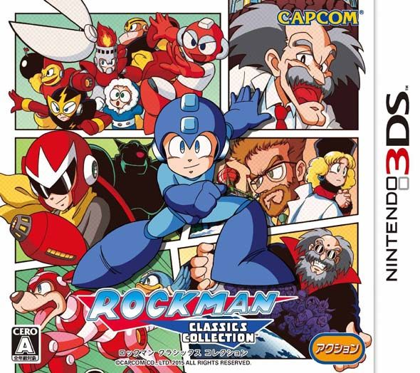 Mega Man Legacy Collection 3DS CIA - USA Region Free - http://www.ziperto.com/mega-man-legacy-collection-3ds-cia/