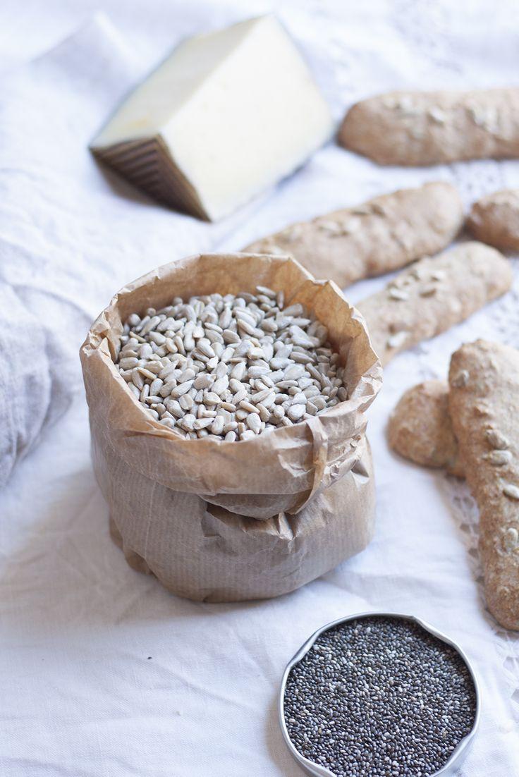 Receta de Pan crujiente de pipas y otras semillas