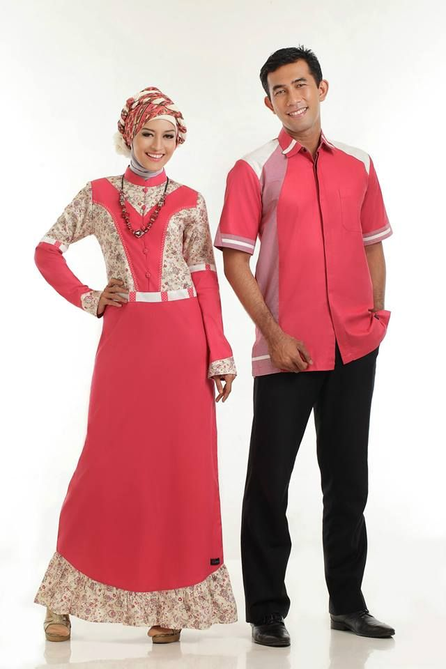 Baju Gamis Batik modern warna pink yang satu ini sangat elegan. Dengan perpaduan warna pink polos dan motif batik membuat gamis ini cantik dan menawan.   Detail http://gamisbatik.com/gamis-batik-sarimbit-clared.html