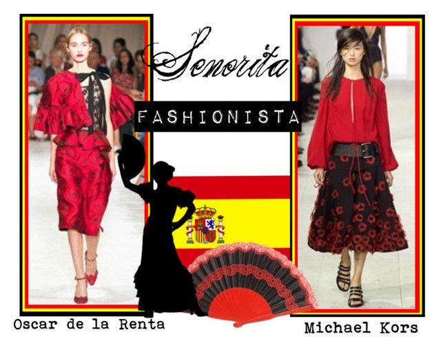 Spring/Summer 2016 Trend; Spanish Influences by kimearls on Polyvore featuring Oscar de la Renta
