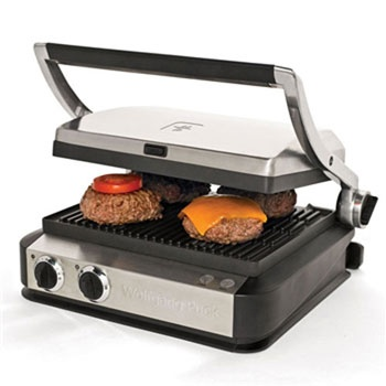 Wolfgang Puck Tri-Grill Panini with Storage Drawer & 3 Plates