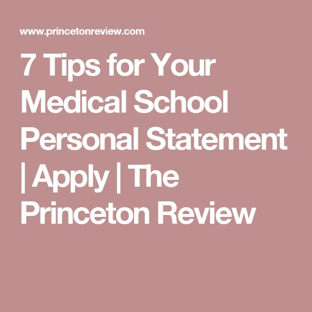"successful med school personal statements Our med school admissions counselors can diagnose the ""health"" of your overall application, including your personal statement get expert help and guidance to write an effective personal statement that showcases not only your accomplishments, but your passion and your journey."