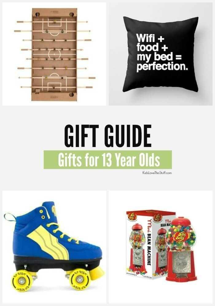 2016 Edition 22 Gift Ideas For 13 Year Olds Cool Stuff Boys And Girls