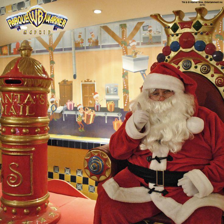 Antes de su partida a Laponia Papa Noel espera la visita de todos los niños en Old West Territory. ¡No olvides tu carta de deseos!