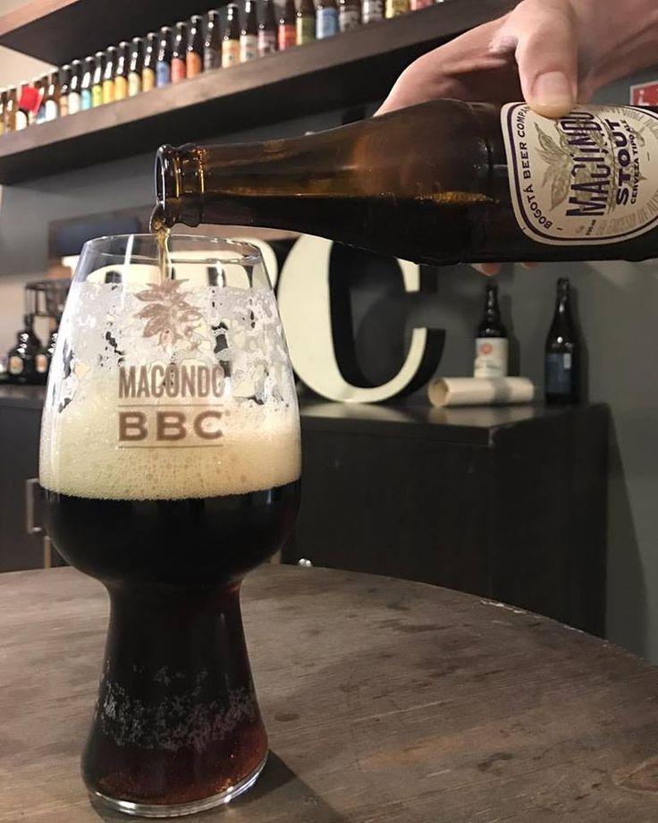 """Bogotá Beer Company's new coffee stout """"Macondo"""" (not OC) #FavoriteBeers #summershandy #beers #footy #greatnight #beer #friends #craftbeer #sun #cheers #beach #BBQ"""