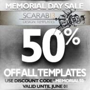 memorial day sale logo