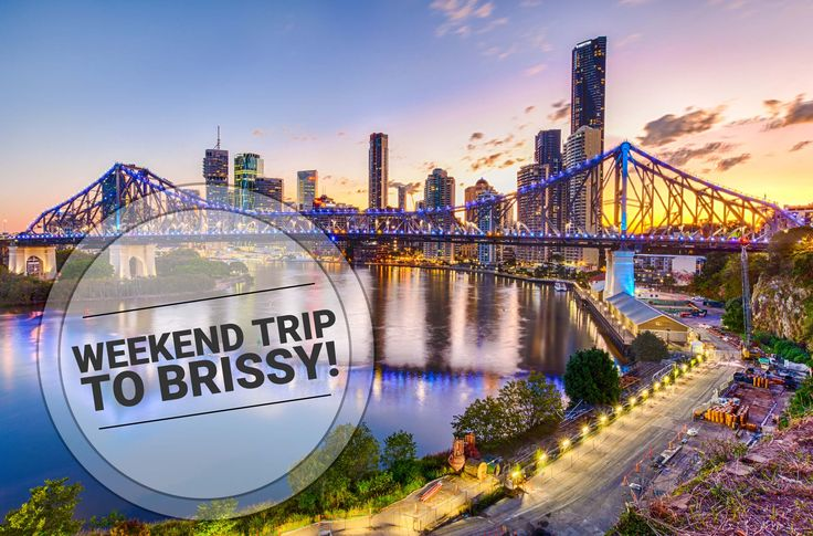 Attention Australians: if you're tied down with work and itching for a getaway, consider Brisbane as your next weekend trip! Look forward to a weekend of eat, drink, shop and play!