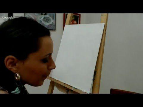 9 й день конференции «Живопись Итоги года» Base of Art и Макс Скоблинский - YouTube