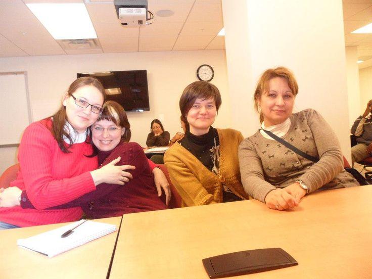 Marina, Yulia, Olga and Julia.