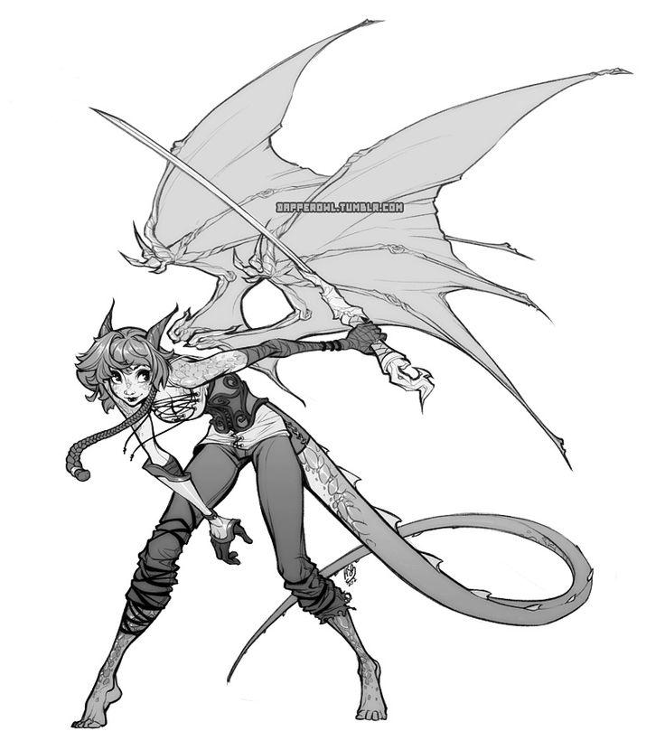 Commission: Sayda by `dapper-owl on deviantART
