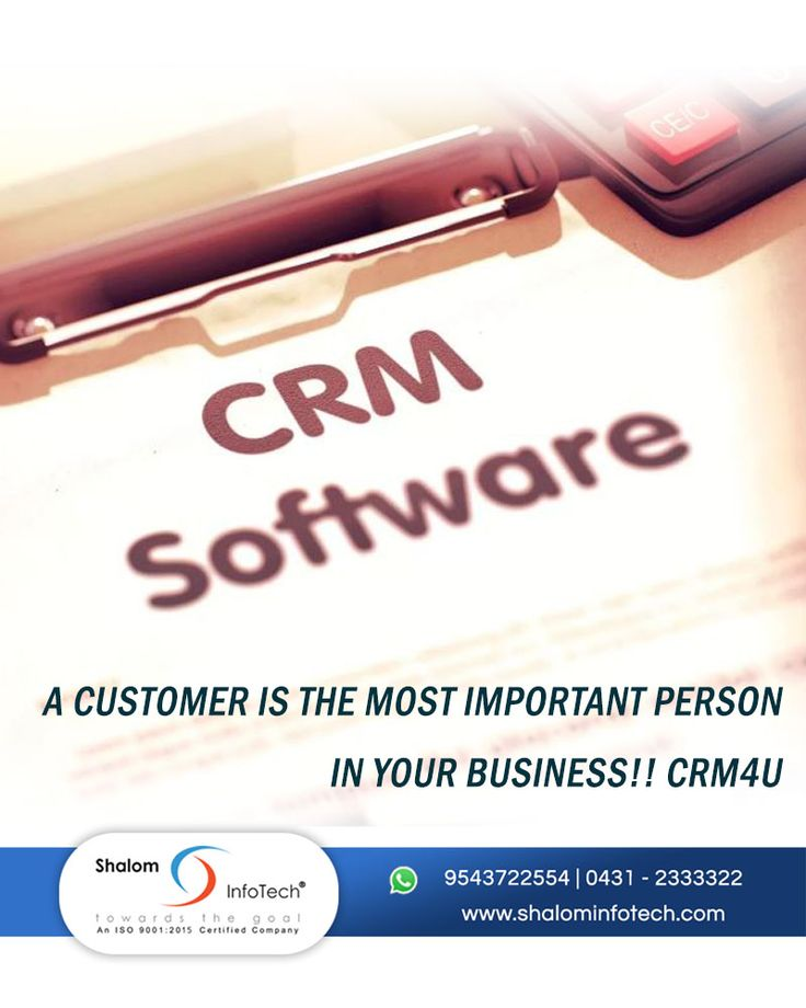 A customer is the most important person in your business