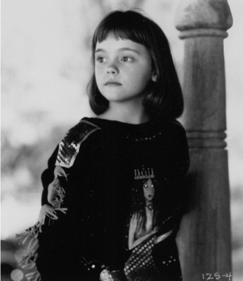 Baby Christina Ricci - Mermaids.(1990) HOW ADORABLE WAS SHE