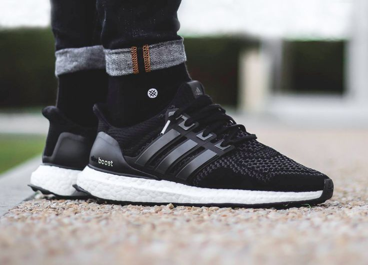 sweetsoles: Adidas Ultra Boost - Core Black (by gawmess)