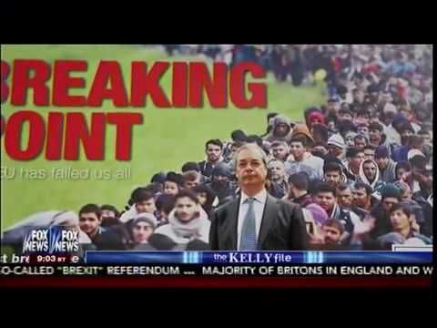 Immigration Issues Drive UK To Vote To Leave EU - The Kelly File   AH News