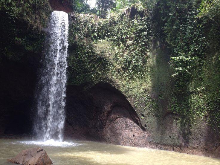 #bali island waterfall
