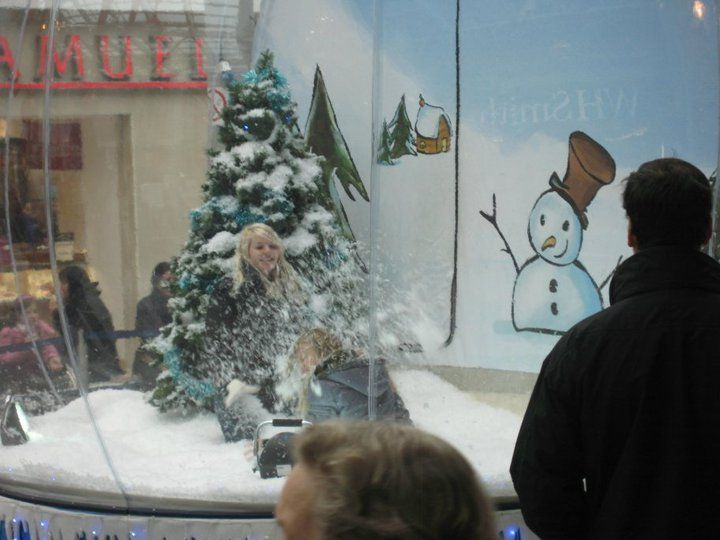 The Snow Globe - Dressing Up Box Photography | Warwickshire| West Midlands| UK