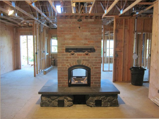 1000 Images About Masonry Fireplace Designs On Pinterest